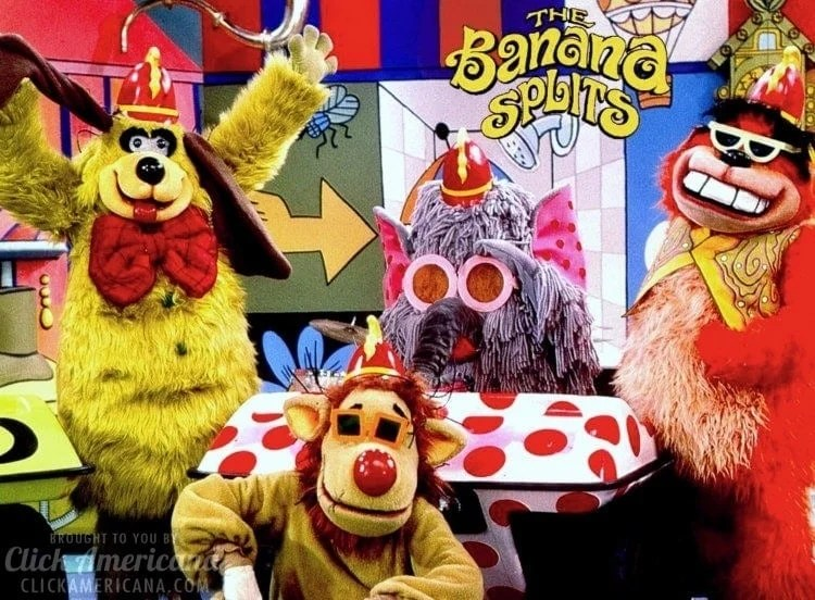 The Banana Splits intro, theme song & lyrics (1968-1970)